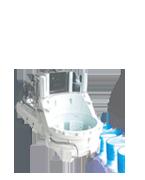 チルトパイラーPZ1200 環境対応型鋼矢板圧入引抜機