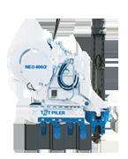 チルトパイラーネオ400α オーガ併用油圧式杭圧入工法